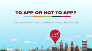To App or Not to App
