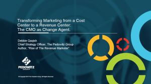 The Marketer as a Change Agent