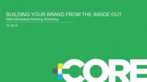 Building Your Brand from the Inside Out