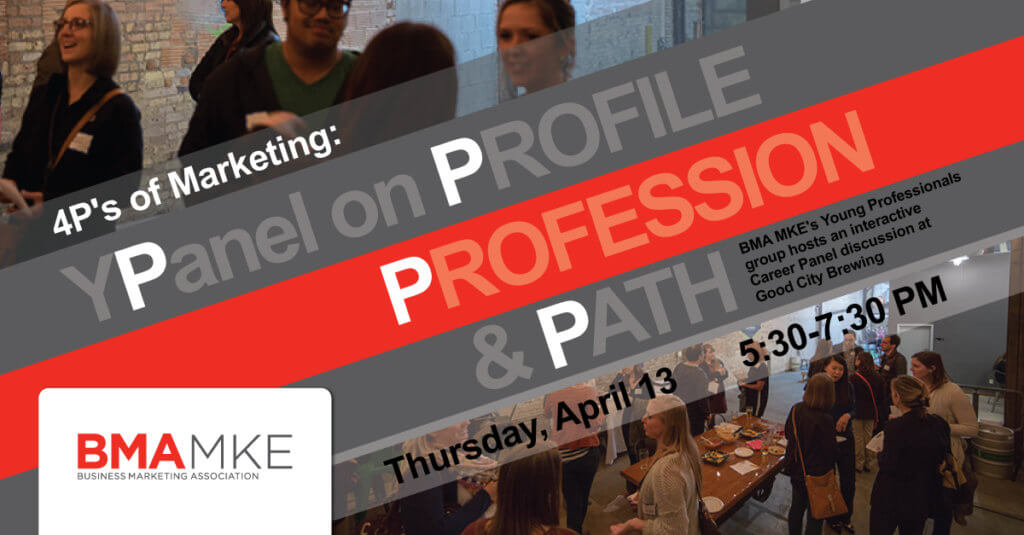 4Ps of Marketing: YPanel on Profile, Profession, & Path