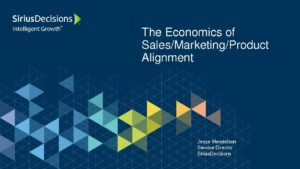 Economics of Alignment