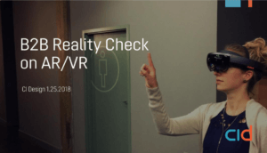 B2B Reality Check on AR/VR